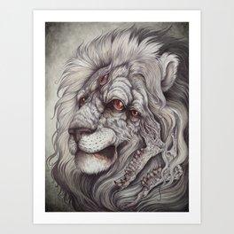 the Nemean Lion Art Print