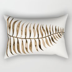 Palm Leaf – Sepia Rectangular Pillow