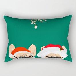 Mr And Mrs Claus II Rectangular Pillow
