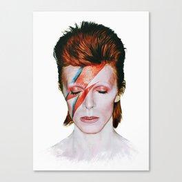 Bowie Tribute Canvas Print