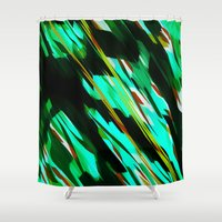 camo Shower Curtains featuring CAMO BRONX by Chrisb Marquez