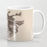 anatomical heart Mugs featuring Anatomical Heart by Redmonks