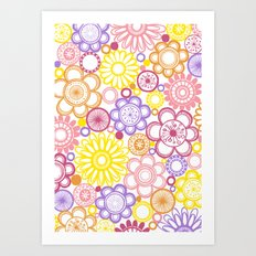 BOLD & BEAUTIFUL summertime Art Print