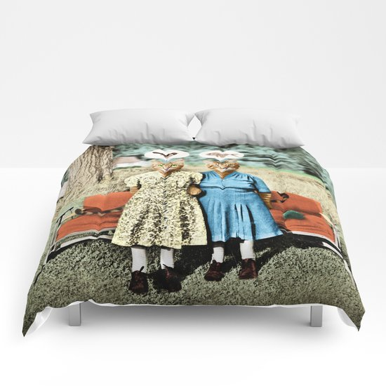 Two Cool Kitties: What's for Lunch? Comforters
