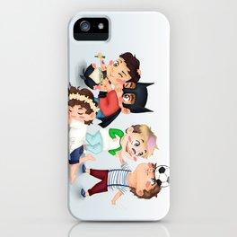 Chibi kids OT5 iPhone Case