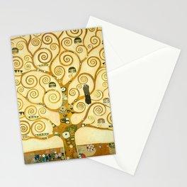 """Gustav Klimt """"Tree of life"""" Stationery Cards"""