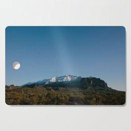 The Snow Covered Superstitions Cutting Board