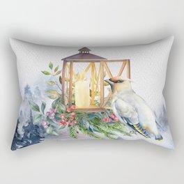 Winter Bird 5 Rectangular Pillow
