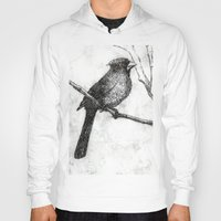 cardinal Hoodies featuring Cardinal by Rebecca Joy - Joy Art and Design
