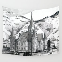 Provo City Center Temple Wall Tapestry