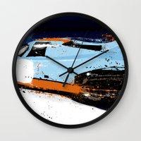 porsche Wall Clocks featuring PORSCHE 917 -  by Michele Leonello