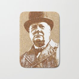 Scrabble Winston Churchill Bath Mat