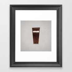 Lonely Piano Framed Art Print
