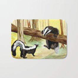 Skunk & Badger Bath Mat
