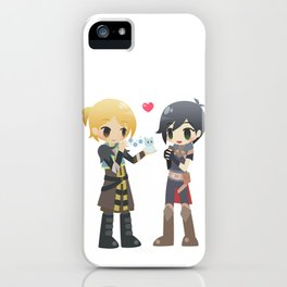 Dragon Age - Anders and Hawke iPhone Case