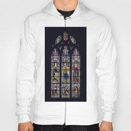 Good Knight Stained Glass Window Stratford Upon Avon England Hoody