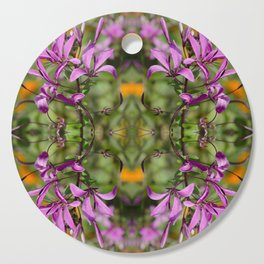 PASTEL PURPLE FLOWER  Cutting Board