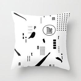 The Imprinting Throw Pillow