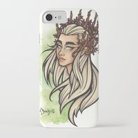 thranduil iPhone & iPod Cases featuring Thranduil by Warbunny