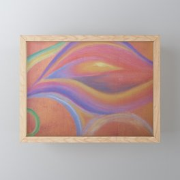 Sensual flower Framed Mini Art Print