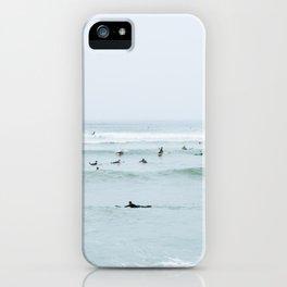 Tiny Surfers Lima, Peru iPhone Case