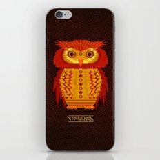 Geometric Owl iPhone & iPod Skin