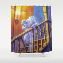 The Headless Ghost Shower Curtain