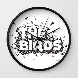 The Birds movie Wall Clock