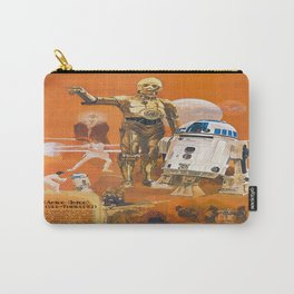 Star R2-D2 C-3PO Wars Carry-All Pouch
