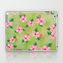 Tropical Flowers Malaysian Inspired Print Laptop & iPad Skin