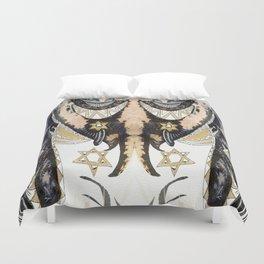 Sleepy Starbird Duvet Cover