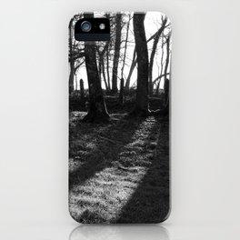 Railway Trees iPhone Case