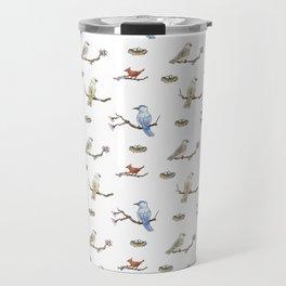 Spring Birds Travel Mug