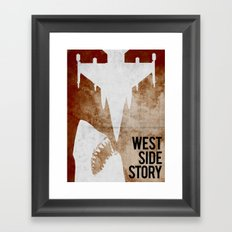 west side story Framed Art Print