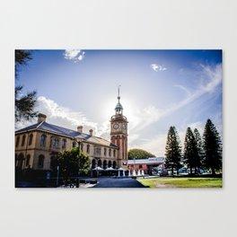 Newcastle, NSW, Australia Customs House Canvas Print