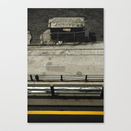 Levels below Canvas Print