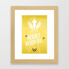 Ultimate Quote - Mercy Framed Art Print