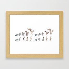 Darwin's Inspiration Mug Framed Art Print