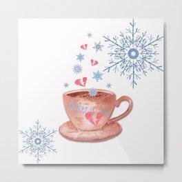 Love Winter Metal Print