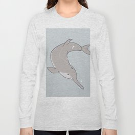 Baiji Dolphin Long Sleeve T-shirt
