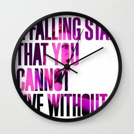 Garbage - 'Supervixen' lyrics Wall Clock