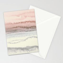 WITHIN THE TIDES - SNOW ON THE BEACH Stationery Cards