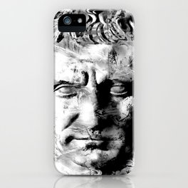 JULIUS CAESAR (BLACK & WHITE VERSION) iPhone Case