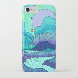 The river on Neptune iPhone Case