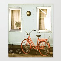 stockholm Canvas Prints featuring Stockholm. by Mattea Weihe