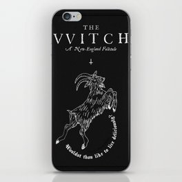 The Witch - Black Phillip iPhone Skin