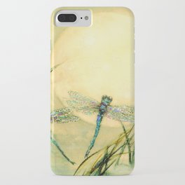 Dragonfly Moon  iPhone Case
