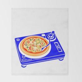 Pizza Scratch Throw Blanket