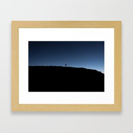 Sunset on Moon Island Framed Art Print