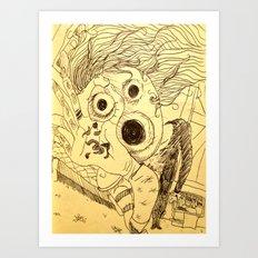 Open Up! Art Print